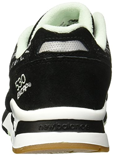 W530SUA Schuhe Balance 530 Damen Turnschuhe Sneaker Black New Schwarz qpUwgw