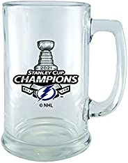 NHL Tampa Bay Lightning 2021 Stanley Cup Champions Beer Stein, 15-Ounce