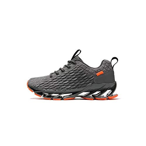 Men Running Shoes 2 Black Sneakers Gel 90 Zoom Air 720 Breathable Fashion Sport Triple S 270 Walking,Gray,10.5