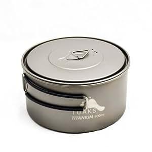 TOAKS Titanium 900ml Pot with 130mm Diameter