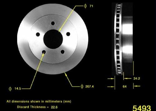 Bendix PRT1822 Brake Rotor