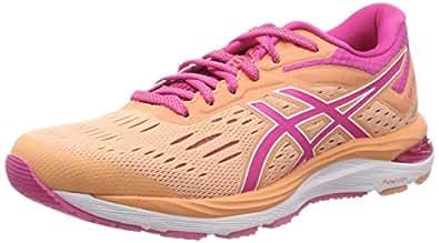Asics Womens Gel-Cumulus 20 Running Shoes, Pink (Mojave/Fuchsia Purple),6 US,37 EU