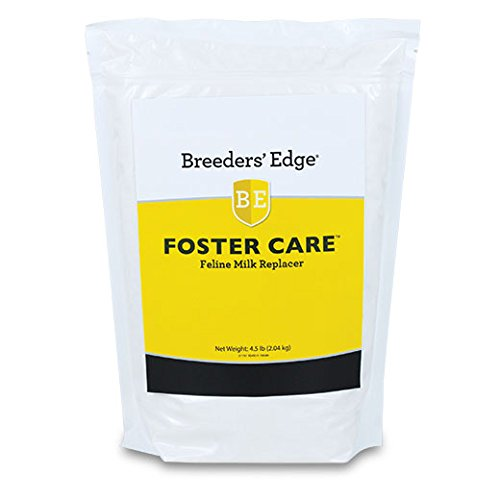 Breeders Edge Foster Care Feline Powdered Milk Replacer 4.5 Lb for kittens & cats