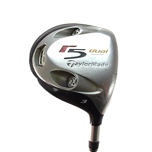 TaylorMade R5 Dual 3 Fairway Wood 15 degree M.A.S. Graphite Stiff Flex 24333G (Taylormade R5)