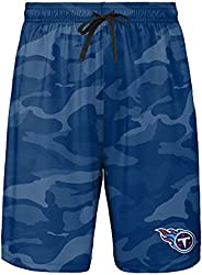 FOCO Tennessee Titans NFL Mens Cool Camo Training Shorts - M