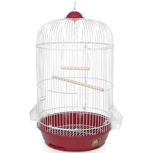 Prevue Hendryx SP31999R Classic Round Bird Cage, Red