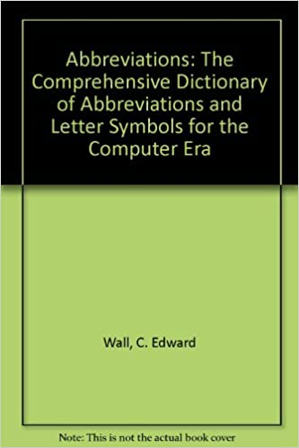 Amazon Abbreviations The Comprehensive Dictionary Of
