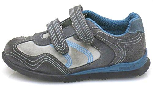 Primigi Zapatillas Zapato De Niño Zapatos Jungensneaker Zapatillas De Cuero Zapatillas gris