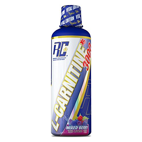 Ronnie Coleman Signature Series L-Carnitine XS 3000, Mixed Berry, 24 Ounce