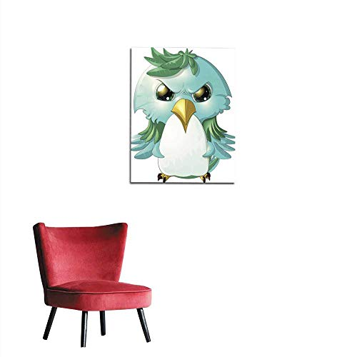 "longbuyer Art Decor Decals Stickers Angry Bird Mural 32""x36"""