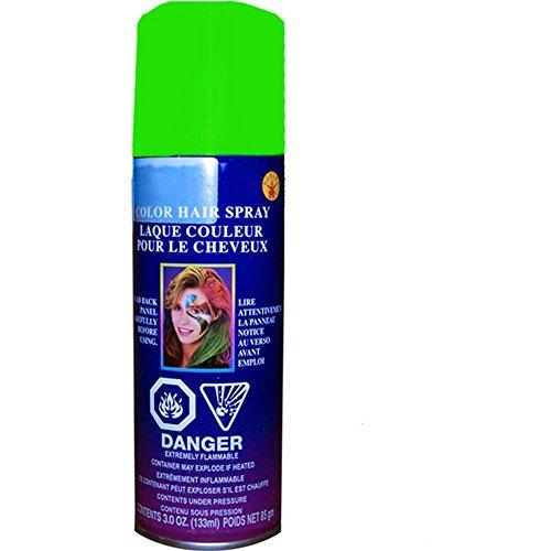 Green Temporary Spray Hair Color