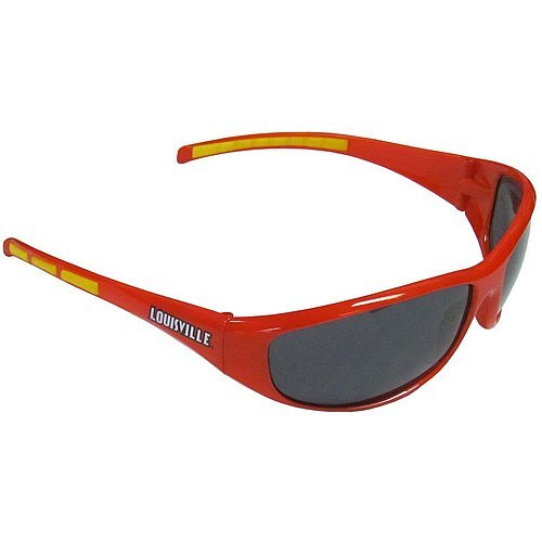 Louisville Cardinals Sunglasses - Wrap - Licensed NCAA Gift - Louisville Cardinals - Louisville Sunglasses