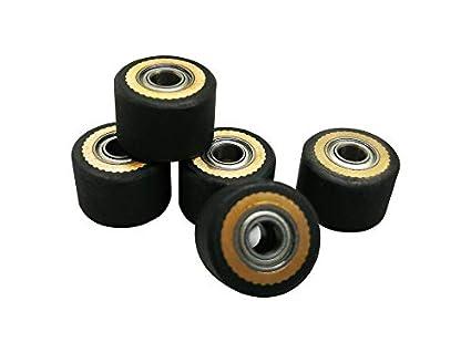 4 piezas Pinch Roller para Pcut kingcut Cutter Plotter de Corte de ...