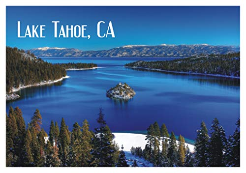 - Emerald Bay, Lake Tahoe, State Park, California, CA, Souvenir Magnet 2 x 3 Fridge Magnet