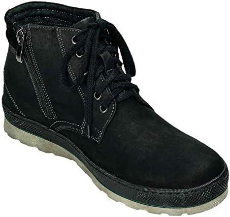 ABIS Men's Boots Black Black Black Size: 9 UK
