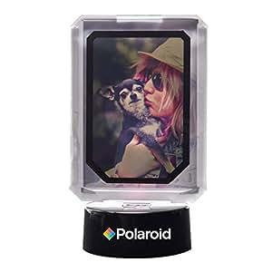 Polaroid marco de fotos interactivo colorido con luces LED - Gran pantalla para tus proyectos de papel fotográfico de 2x3 pulgadas de Zinc Polaroid Memories (Snap, Pop, Zip, Z2300) (Snap, Pop, Zip, Z2300) (precio: 10,99€)