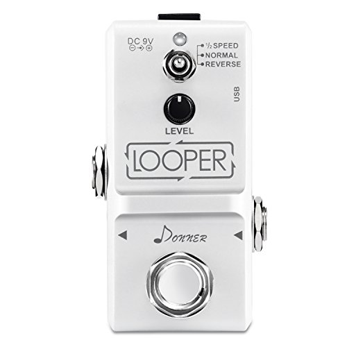 Donner Tiny Looper Guitar Effect Pedal 10 minutes of Looping 3 Modes Loop Pedal