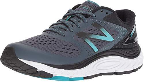 New Balance Women's 840v4 Running Shoe, Dark Grey, 9.5 2E US
