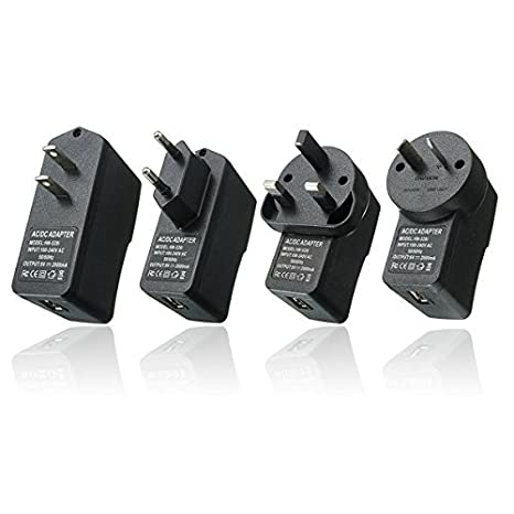 Global Adaptador de Fuente de Alimentación USB AC 100V-240V ...