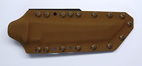 Custom Coyote Brown color .08″ Kydex Sheath for Cold Steel Knives Master Tanto Knife For Sale