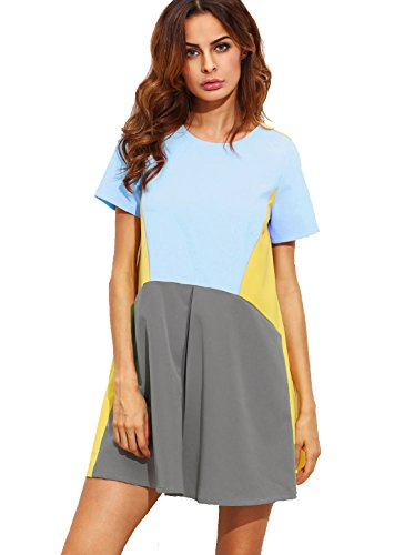 SheIn Womens Sleeve Pockets Casual