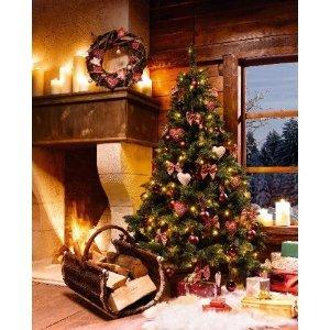Delightful Künstlicher Weihnachtsbaum Deko Tannenbaum Mit Lichterkette F223095 Design Ideas