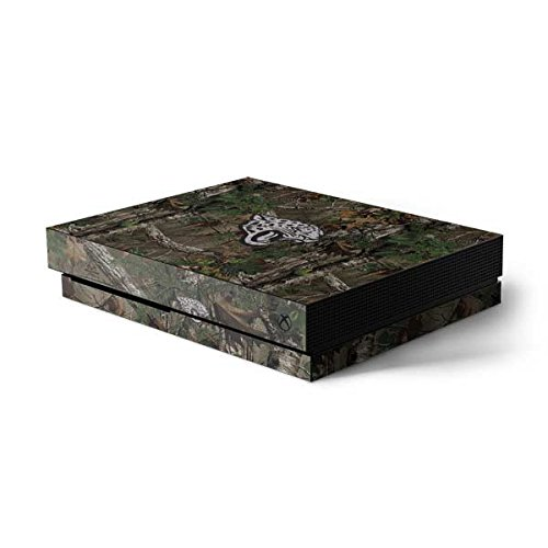 Skinit NFL Jacksonville Jaguars Xbox One X Console Skin - Jacksonville Jaguars Realtree Xtra Green Camo Design - Ultra Thin, Lightweight Vinyl Decal Protection