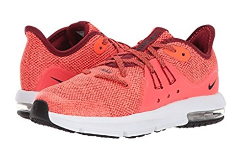 Nike Hommes Air Max Sequent 3 Chaussure De Course Équipe Rouge / Noir-total  Crimson
