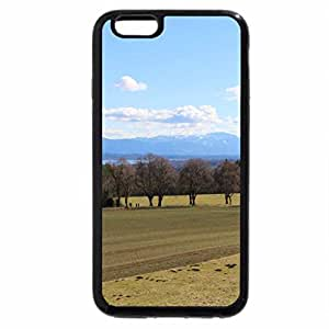 iPhone 6S / iPhone 6 Case (Black) Bavarian Mountains