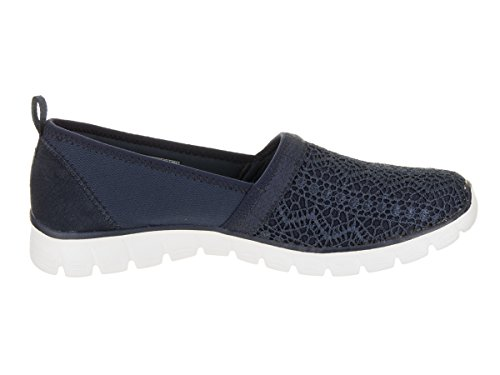 Skechers Donna Casual Ez Flex 3.0 Duchess Slip-on, Nero Navy