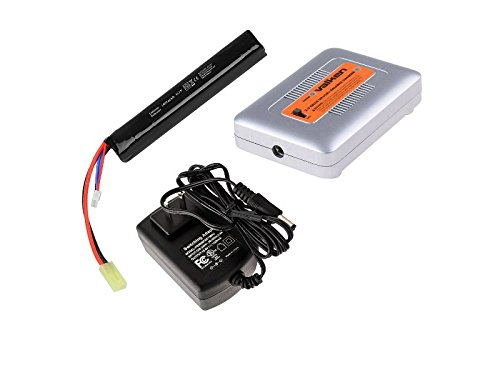 (LiPo Battery Starter Package for AEG's w/ 11.1v 1000mAh Stick Type Battery & Smart Charger)