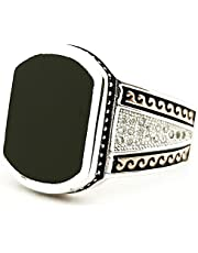 silver ring for men,size 5-094