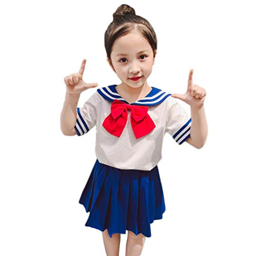 NSPSTT Girls Sailor Moon Cosplay School Unifrom Japanese