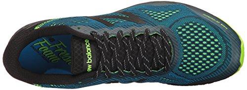 New Balance Mens Gobiv2 Running Shoe Black / Bolt
