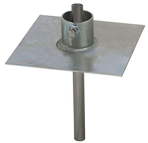 EZ 32A Heavy Duty Ground Mount for Telescopic / Push Up Masts - Mast Plate