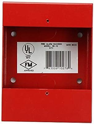 Alarmas de incendio Lite SB-10 rojo fuego alarma BG-12 serie ...