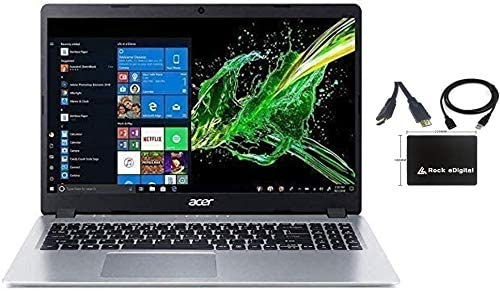 "2021 Newest Acer Aspire 5 15.6"" FHD 1080P Laptop Computer AMD Ryzen 3 3200U Dual Core Processor (Beat i5-7200U) 16GB RAM 1TB SSD Backlit Keyboard WiFi Bluetooth HDMI Windows 10 Pro w/ RE Accessories"