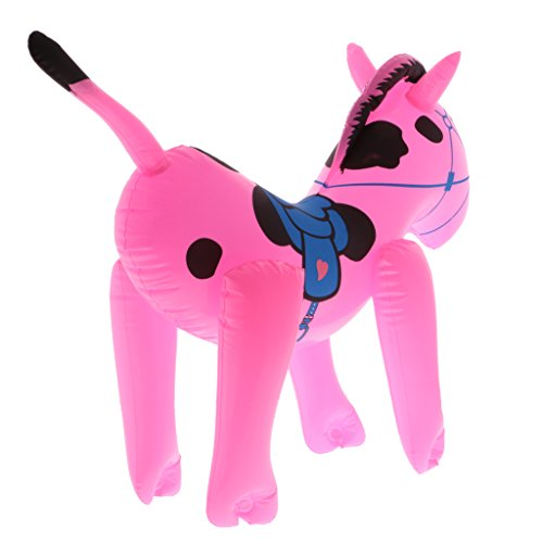 Jili Online Children Kids Plastic Halloween/Beach/Pool/Themed Blow Up Inflatable Horse Party Toy Decoration