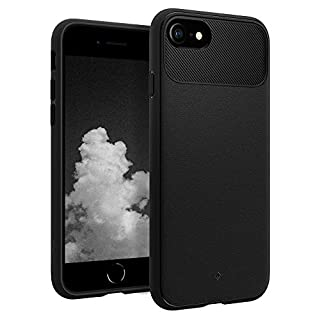 Caseology Vault for Apple iPhone SE 2020 Case for iPhone 8 Case (2017) for iPhone 7 Case (2016) - Matte Black