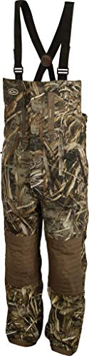 Drake Men's Guardian Flex Insulated Bib, Realtree Max-5, (Drake Max 4 Camouflage)
