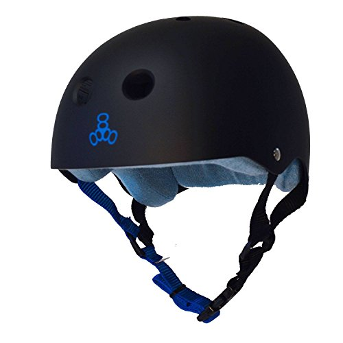 Triple 8 Sweatsaver Helmet-Black/Blue-X-Large from Triple Eight