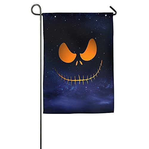 field tree Garden Flag Halloween Scary Pumpkin Face House Flags Personalized 12 Inch X 18 (Faces Pumpkin Halloween)
