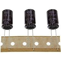 20x Electrolitico Condensador rad. 10µF 450V 105°C ;