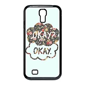 Cool PaintingFashion Cell phone case Of Okay Okay Bumper Plastic Hard Case For Samsung Galaxy S4 i9500