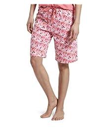 Hue Womens Printed Bermuda Pajama Shorts