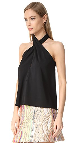 Amanda Uprichard Women's Beckett Top, Black, Small by Amanda Uprichard (Image #3)