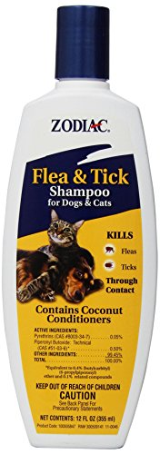 Zodiac Flea & Tick Shampoo for Dogs & Cats, 12-ounce