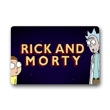 Rick and Morty Custom Doormat (23.6 x15.7 )