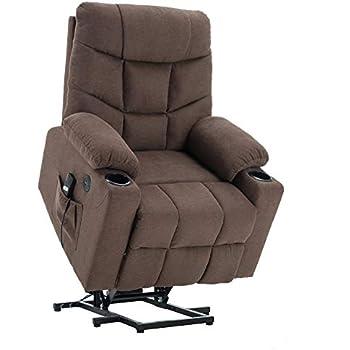 Pleasing Amazon Com Homegear Microfiber Power Lift Electric Recliner Cjindustries Chair Design For Home Cjindustriesco