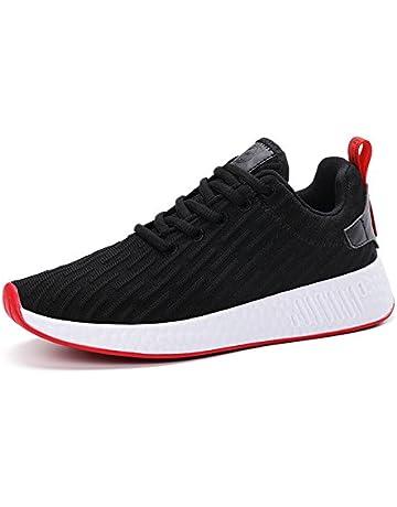 cf9d33749d9f Mishansha Men Women Fashion Sneakers Breathable Mesh Comfortable  Lightweight Walking Shoes Slip-On Running Soft